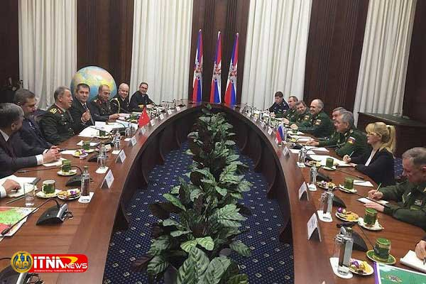 turkey Mosco 29d - دیدار مقامات ارشد نظامی و اطلاعاتی ترکیه و روسیه در مسکو