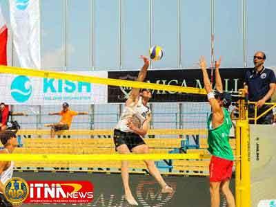 valibal 30d - شرکت 7 ورزشکار گلستان درتورجهانی والیبال ساحلی جهانی